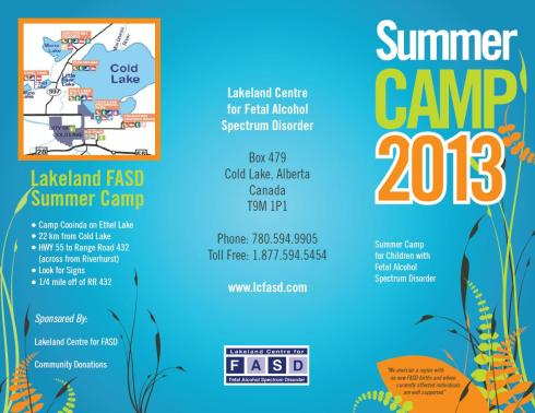 Camp Location and Contact Information